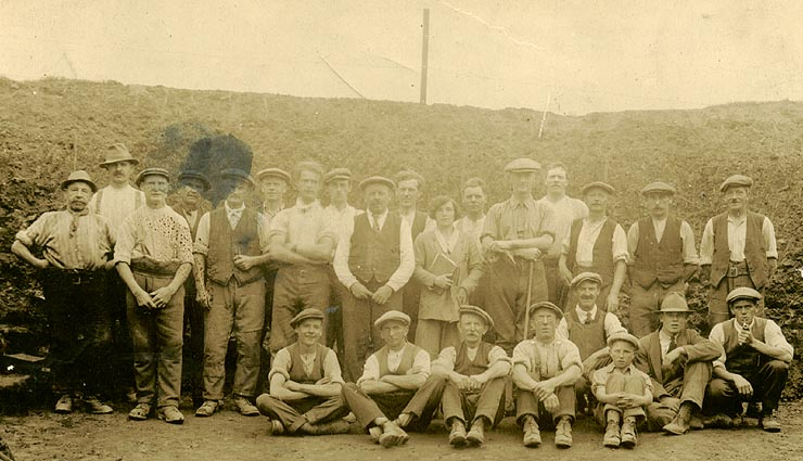 Caerleon Roman Amphitheatre Excavation Team 1927