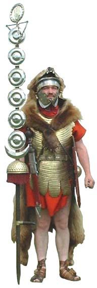 Roman standard bearer pictures