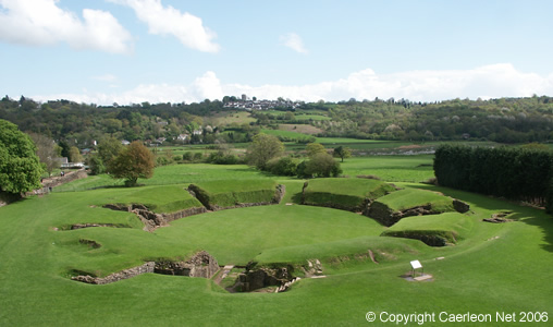 The Roman Amphitheatre Caerleon Wales
